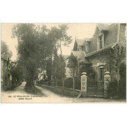 carte postale ancienne 44 LE POULIGUEN. Allée Benoît