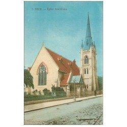 carte postale ancienne 06 NICE. Eglise Américaine