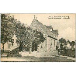carte postale ancienne 44 LE POULIGUEN. Chapelle Sainte-Anne à Penchâteau 1927