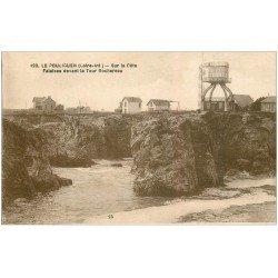 carte postale ancienne 44 LE POULIGUEN. Falaises Tour Rochereau