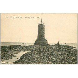 carte postale ancienne 44 LE POULIGUEN. La Tour Rouge