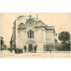 carte postale ancienne 06 NICE. Eglise Russe