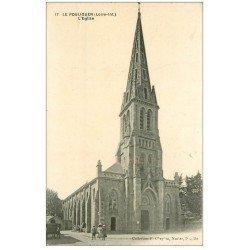 carte postale ancienne 44 LE POULIGUEN. L'Eglise n°17