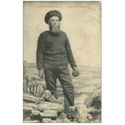 carte postale ancienne 44 LE POULIGUEN. Type de Pêcheur