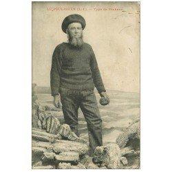 carte postale ancienne 44 LE POULIGUEN. Type de Pêcheur. Métiers de la Mer