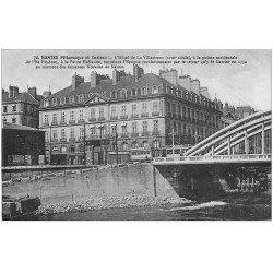 carte postale ancienne 44 NANTES. Hôtel de Villestreux