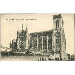 carte postale ancienne 44 NANTES. Basilique Saint-Donatien