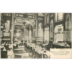 """carte postale ancienne 44 NANTES. Brasserie """""""" La Cigale """""""" Roussel propriétaire du Restaurant"""