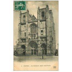 carte postale ancienne 44 NANTES. Cathédrale 1911