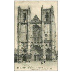 carte postale ancienne 44 NANTES. Cathédrale 1919