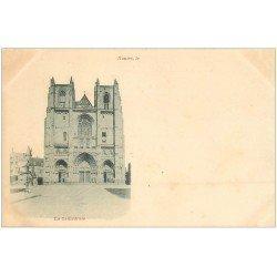 carte postale ancienne 44 NANTES. Cathédrale vers 1900