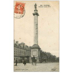 carte postale ancienne 44 NANTES. Colonne Louis XVI 1910