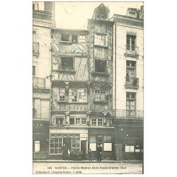 carte postale ancienne 44 NANTES. Haute-Grande-Rue 184