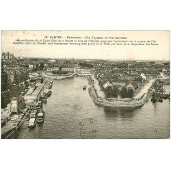 carte postale ancienne 44 NANTES. Iles Feydeau et Gloriette