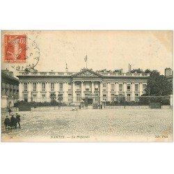 carte postale ancienne 44 NANTES. La Préfecture 1910