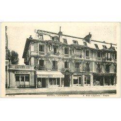 carte postale ancienne 06 NICE. Hôtel Restaurant 6 rue Lepante