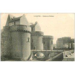 carte postale ancienne 44 NANTES. Le Château 2