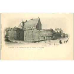 carte postale ancienne 44 NANTES. Le Château 25