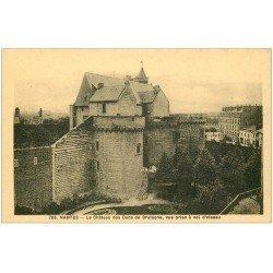 carte postale ancienne 44 NANTES. Le Château 703
