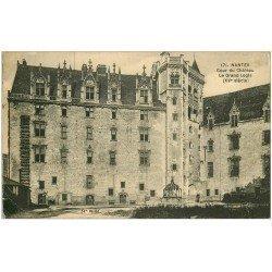 carte postale ancienne 44 NANTES. Le Château Grand Logis 1924