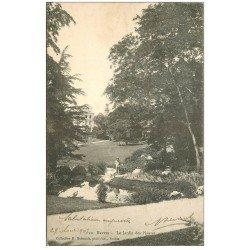 carte postale ancienne 44 NANTES. Le Jardin des Plantes 1903