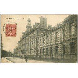carte postale ancienne 44 NANTES. Le Lycée 1907