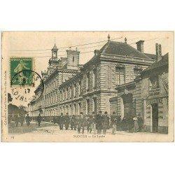 carte postale ancienne 44 NANTES. Le Lycée 1917