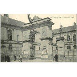 carte postale ancienne 44 NANTES. L'Hôtel de Ville n°169