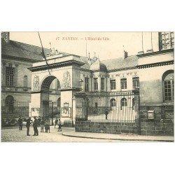 carte postale ancienne 44 NANTES. L'Hôtel de Ville n°17