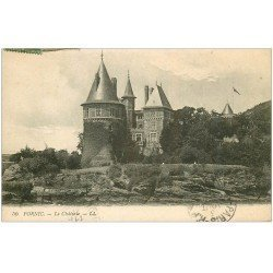 carte postale ancienne 44 PORNIC. Château 1920