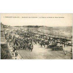 carte postale ancienne 44 PORNICHET. Fanfare de Procession Boulevard des Océanides