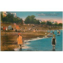 carte postale ancienne 44 SAINT-NAZAIRE. Plage Boulevard Océan