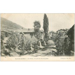 carte postale ancienne 38 ALLEVARD-LES-BAINS. Le Bréda