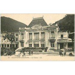carte postale ancienne 38 ALLEVARD-LES-BAINS. Le Casino