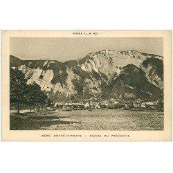 carte postale ancienne 38 BOURG D'OISANS. Signal du Prégentil