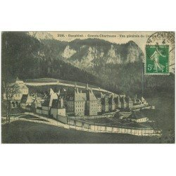 carte postale ancienne 38 CHARTREUSE. Couvent 1913