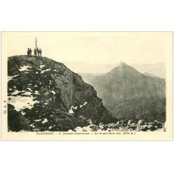 carte postale ancienne 38 CHARTREUSE. Grand-Som