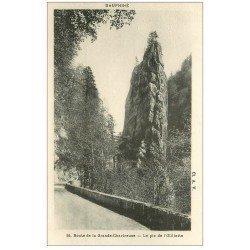 carte postale ancienne 38 CHARTREUSE. Pic de l'Oeillette