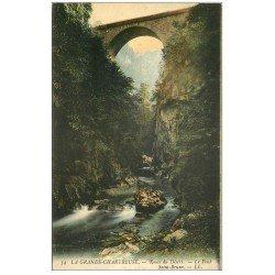carte postale ancienne 38 CHARTREUSE. Pont Saint-Bruno