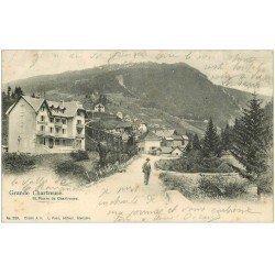 carte postale ancienne 38 CHARTREUSE. Saint-Pierre de Chartreuse 1903