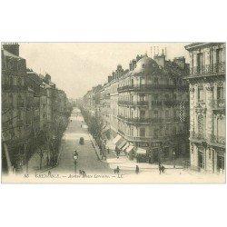 carte postale ancienne 38 GRENOBLE. Avenue Alsace-Lorraine 1910