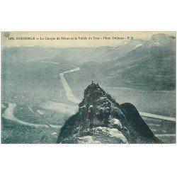 carte postale ancienne 38 GRENOBLE. Casque Néron Vallé du Drac. Chasseurs Alpins