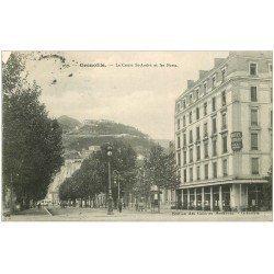 carte postale ancienne 38 GRENOBLE. Cours Saint-André 1909