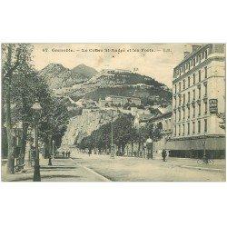 carte postale ancienne 38 GRENOBLE. Cours Saint-André 1912