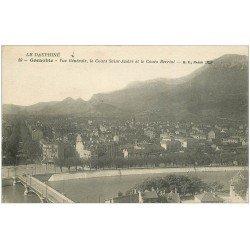 carte postale ancienne 38 GRENOBLE. Cours Saint-André et Berriat 1918