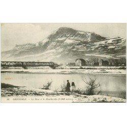 carte postale ancienne 38 GRENOBLE. Drac et Moucherotte