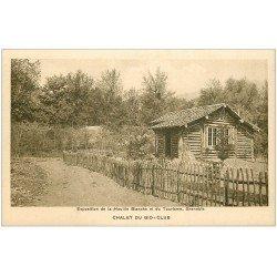carte postale ancienne 38 GRENOBLE. Expo de la Houille Blanche. Chalet Bio-Club