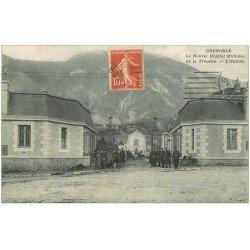 carte postale ancienne 38 GRENOBLE. Hôpital Militaire de la Tronche 1912
