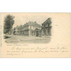 carte postale ancienne 38 GRENOBLE. La Préfecture 1902
