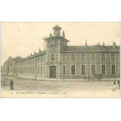 carte postale ancienne 38 GRENOBLE. Le Lycée